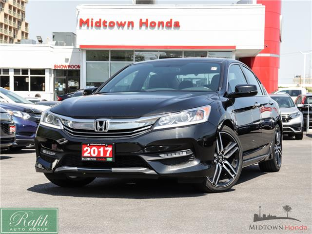 2017 Honda Accord Sport (Stk: P13778) in North York - Image 1 of 32