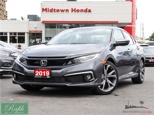 2019 Honda Civic Touring (Stk: 2200410A) in North York - Image 1 of 36