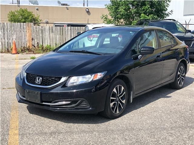 2015 Honda Civic EX (Stk: P13944) in North York - Image 1 of 11