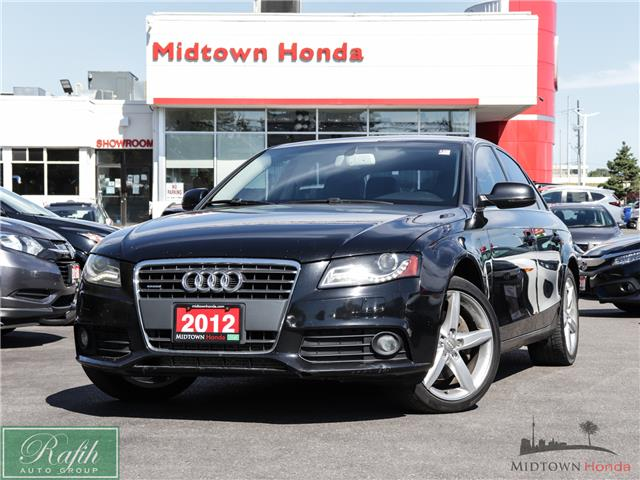 2012 Audi A4 2.0T Premium (Stk: P13778A) in North York - Image 1 of 28