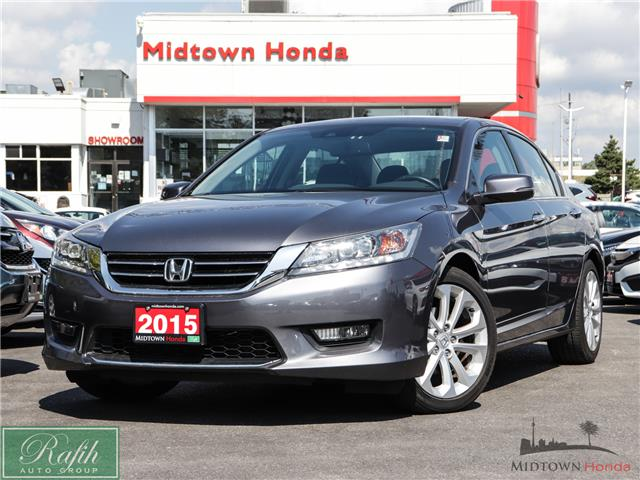 2015 Honda Accord Touring V6 (Stk: P13908) in North York - Image 1 of 35