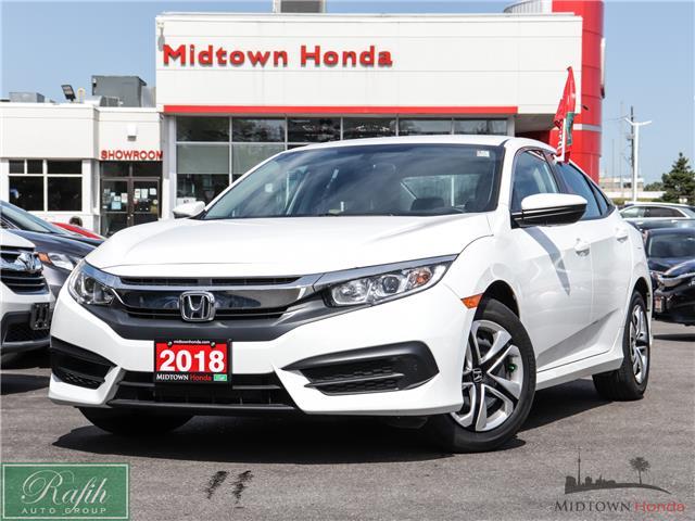 2018 Honda Civic LX (Stk: P13925) in North York - Image 1 of 32