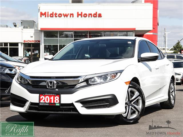 2018 Honda Civic LX (Stk: 2201243A) in North York - Image 1 of 31