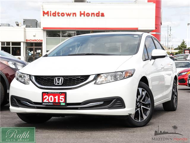 2015 Honda Civic EX (Stk: P13880) in North York - Image 1 of 36