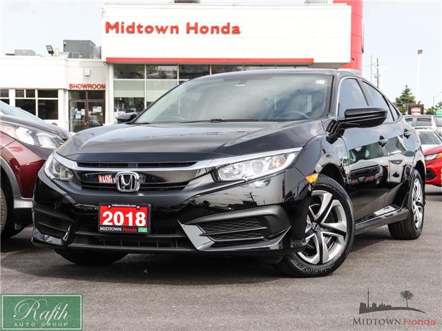 2018 Honda Civic LX (Stk: 2201398A) in North York - Image 1 of 30