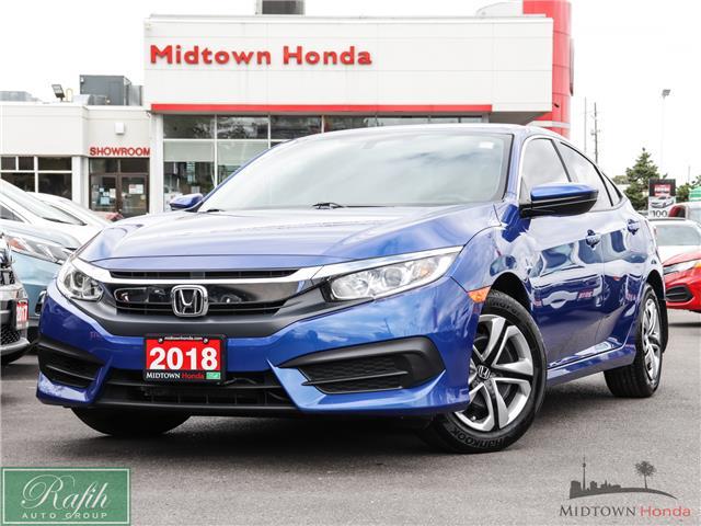 2018 Honda Civic LX (Stk: P14013) in North York - Image 1 of 32