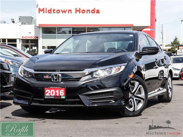 2016 Honda Civic LX (Stk: P14015) in North York - Image 1 of 30