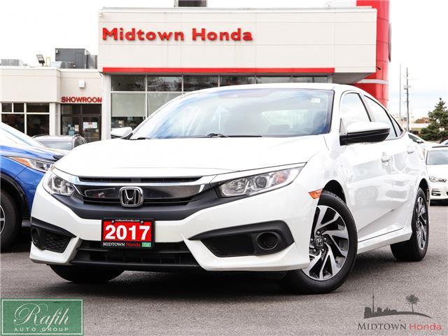 2017 Honda Civic EX (Stk: P14038) in North York - Image 1 of 30
