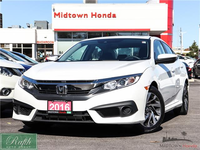 2016 Honda Civic EX (Stk: 2201639A) in North York - Image 1 of 29