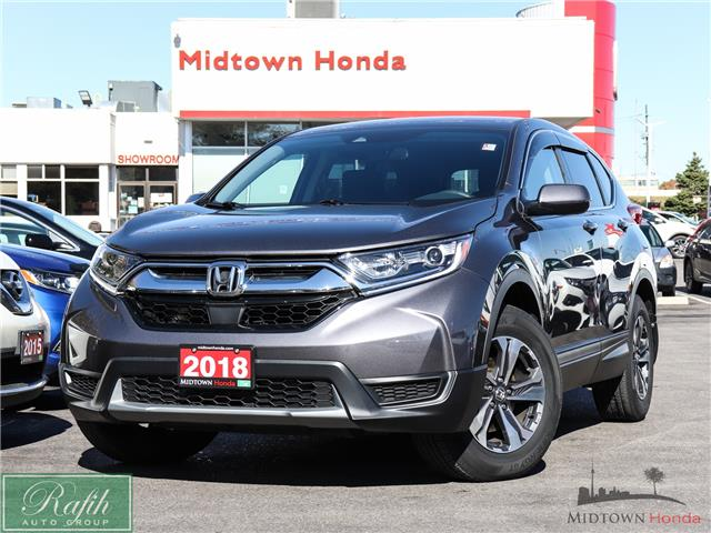 2018 Honda CR-V LX (Stk: P14077) in North York - Image 1 of 27