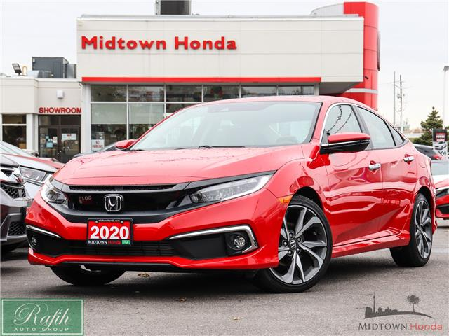 2020 Honda Civic Touring (Stk: P14147) in North York - Image 1 of 30