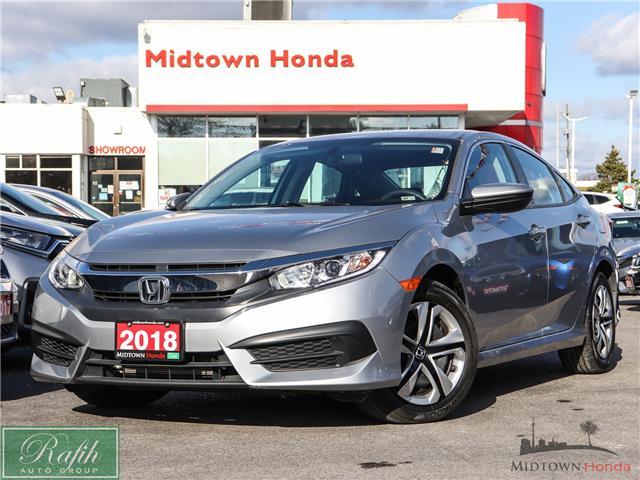 2018 Honda Civic LX (Stk: P14186) in North York - Image 1 of 25