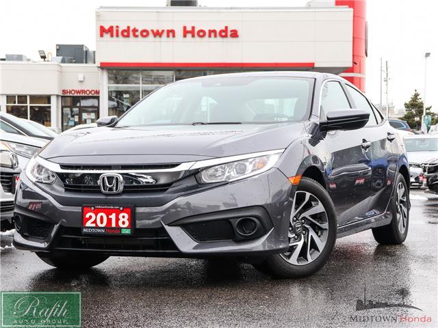 2018 Honda Civic EX (Stk: P14196) in North York - Image 1 of 28