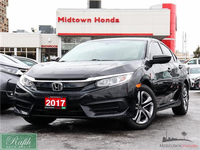 2017 Honda Civic LX (Stk: P14244) in North York - Image 1 of 25