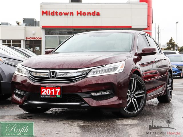 2017 Honda Accord Touring (Stk: P14017A) in North York - Image 1 of 30