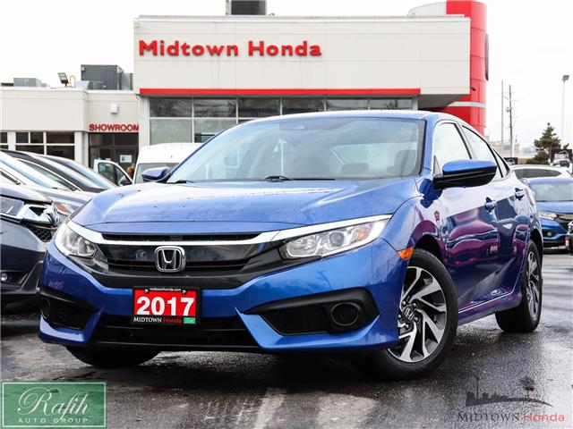 2017 Honda Civic EX (Stk: P14326) in North York - Image 1 of 27