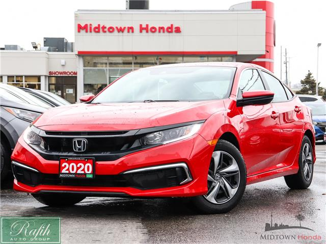 2020 Honda Civic LX (Stk: P14346) in North York - Image 1 of 25