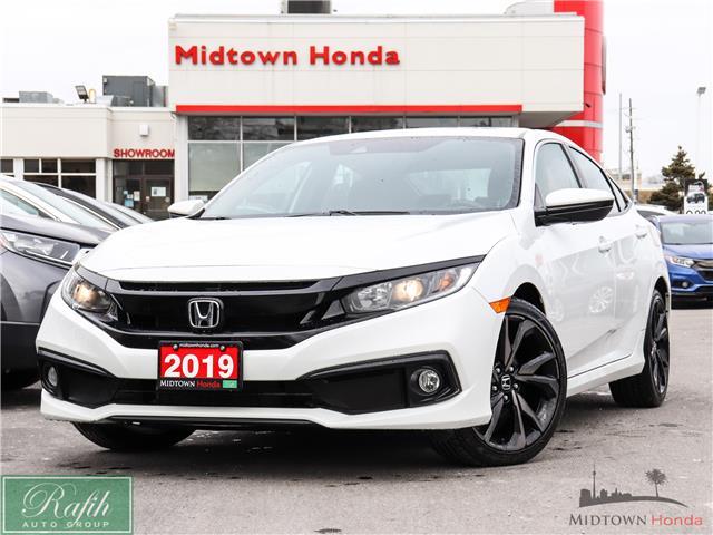2019 Honda Civic Sport (Stk: P14376) in North York - Image 1 of 29