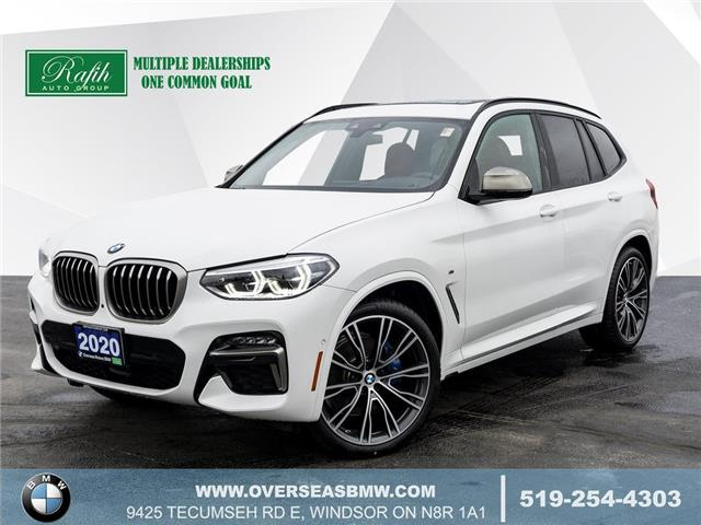 2020 BMW X3 M40i (Stk: B8144) in Windsor - Image 1 of 28