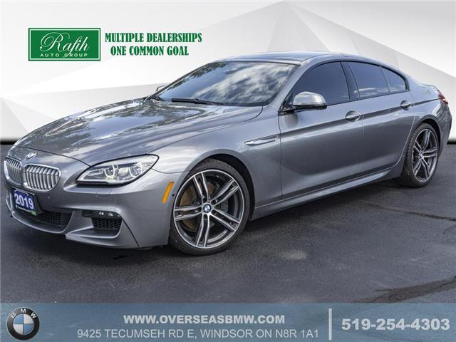 2019 BMW 650 Gran Coupe  (Stk: B7605) in Windsor - Image 1 of 20