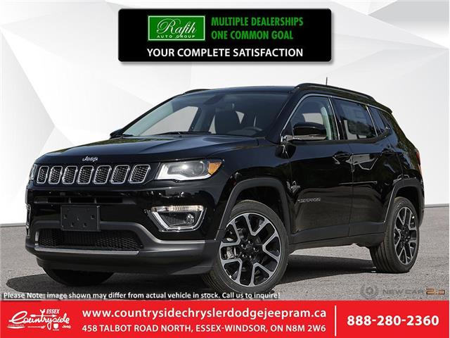 2020 Jeep Compass Limited (Stk: 20166) in Essex-Windsor - Image 1 of 23