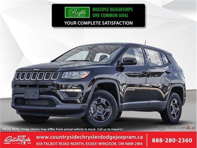 2020 Jeep Compass Sport (Stk: 20224) in Essex-Windsor - Image 1 of 23