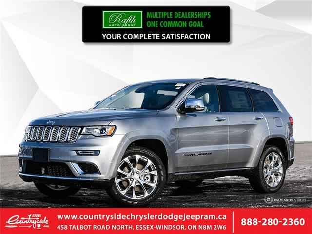 2020 Jeep Grand Cherokee Summit (Stk: 20171) in Essex-Windsor - Image 1 of 27