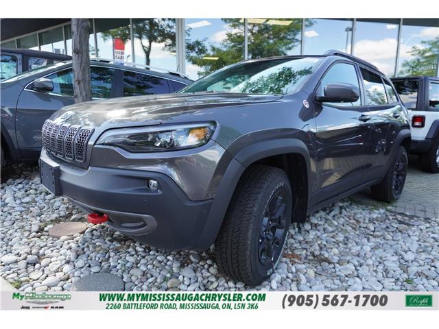 2020 Jeep Cherokee Trailhawk (Stk: 200176) in Mississauga - Image 1 of 11