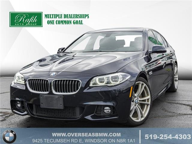 2016 BMW 535i xDrive (Stk: B8195A) in Windsor - Image 1 of 26