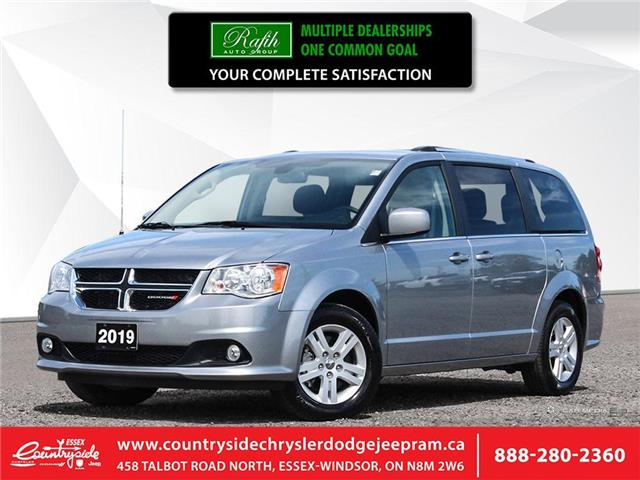 2019 Dodge Grand Caravan Crew (Stk: 60503) in Essex-Windsor - Image 1 of 28
