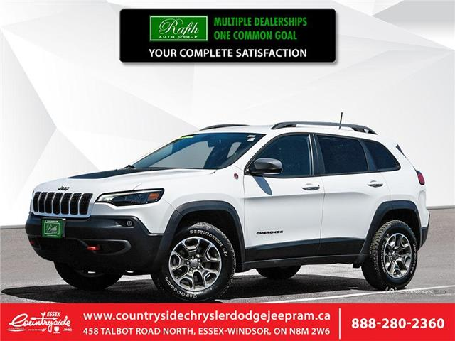 2020 Jeep Cherokee Trailhawk (Stk: 60494) in Essex-Windsor - Image 1 of 27