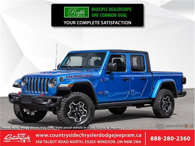 2021 Jeep Gladiator Rubicon (Stk: 21001) in Essex-Windsor - Image 1 of 23