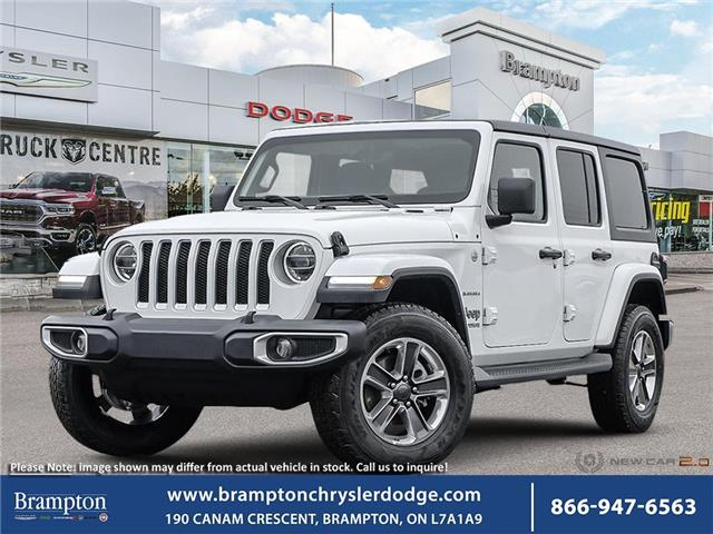 2021 Jeep Wrangler Unlimited Sahara (Stk: 21003) in Brampton - Image 1 of 23