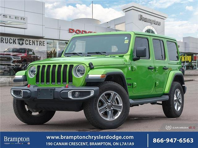 2019 Jeep Wrangler Unlimited Sahara (Stk: 20367A) in Brampton - Image 1 of 30