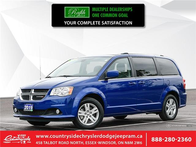 2019 Dodge Grand Caravan Crew (Stk: 60537) in Essex-Windsor - Image 1 of 27