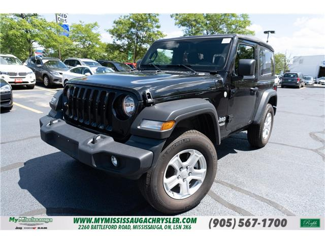 2019 Jeep Wrangler Sport (Stk: 20003A) in Mississauga - Image 1 of 21