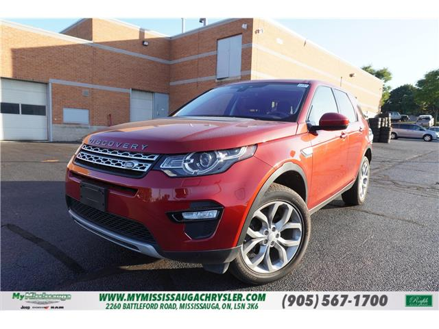 2018 Land Rover Discovery Sport HSE (Stk: 1153) in Mississauga - Image 1 of 26