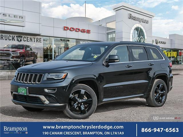 2016 Jeep Grand Cherokee Overland (Stk: 20826A) in Brampton - Image 1 of 30