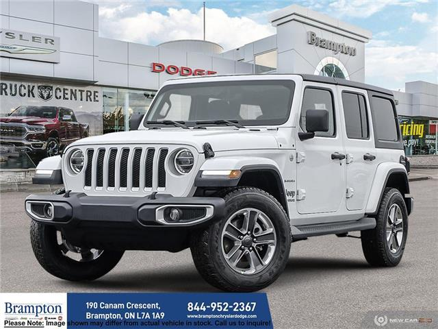 2021 Jeep Wrangler Unlimited Sahara (Stk: ) in Brampton - Image 1 of 23