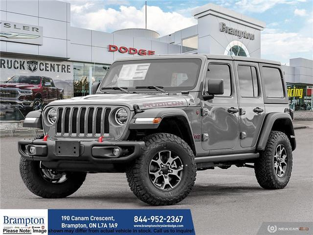 2021 Jeep Wrangler Unlimited Rubicon (Stk: ) in Brampton - Image 1 of 23