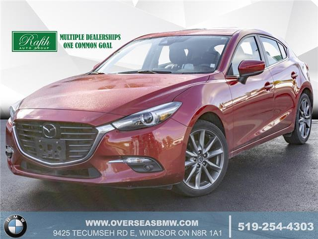 2018 Mazda Mazda3 GT (Stk: P8376) in Windsor - Image 1 of 20