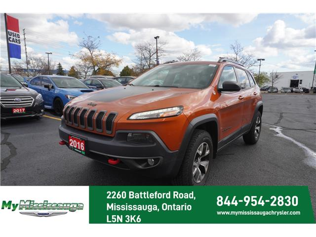 2016 Jeep Cherokee Trailhawk (Stk: 1093A) in Mississauga - Image 1 of 18