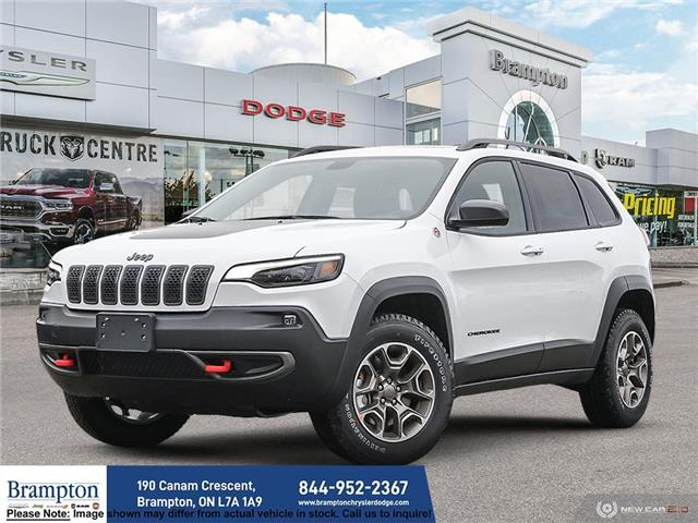 2021 Jeep Cherokee Trailhawk (Stk: 21140) in Brampton - Image 1 of 22