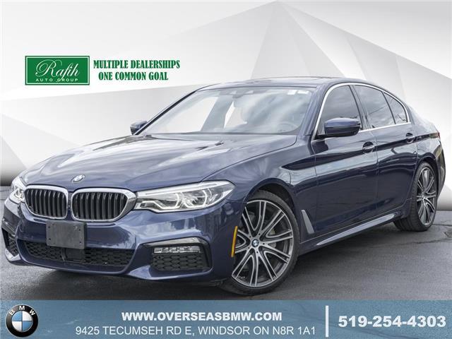 2017 BMW 540i xDrive (Stk: P8378) in Windsor - Image 1 of 23