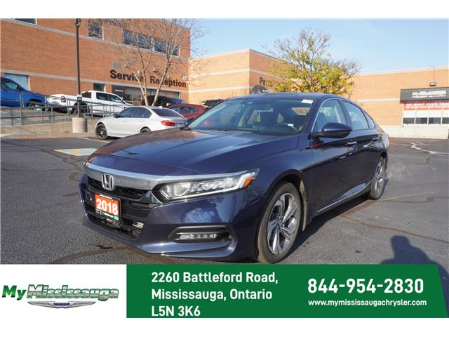2018 Honda Accord EX-L (Stk: 1187) in Mississauga - Image 1 of 25