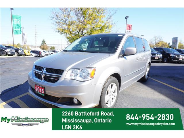2016 Dodge Grand Caravan Crew (Stk: 20055A) in Mississauga - Image 1 of 18