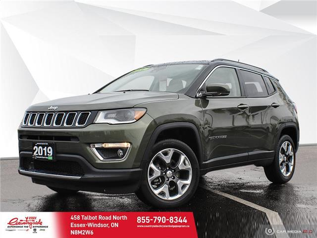 2019 Jeep Compass Limited (Stk: 60583) in Essex-Windsor - Image 1 of 30
