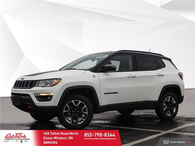 2018 Jeep Compass Trailhawk (Stk: 60582) in Essex-Windsor - Image 1 of 29