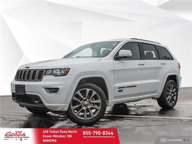 2017 Jeep Grand Cherokee Limited (Stk: 60601) in Essex-Windsor - Image 1 of 29