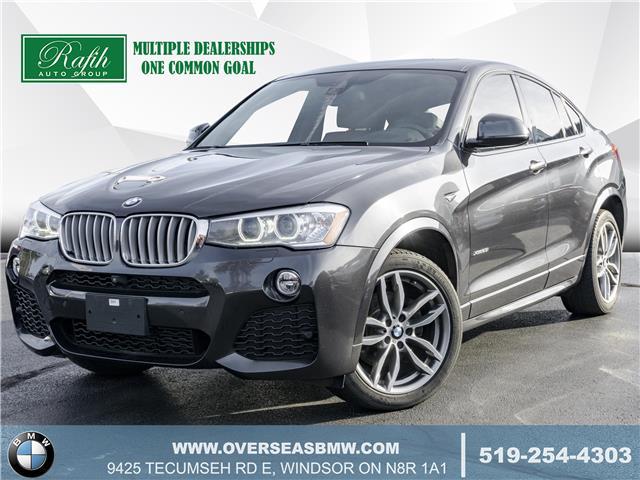 2016 BMW X4 xDrive28i (Stk: B8375A) in Windsor - Image 1 of 23